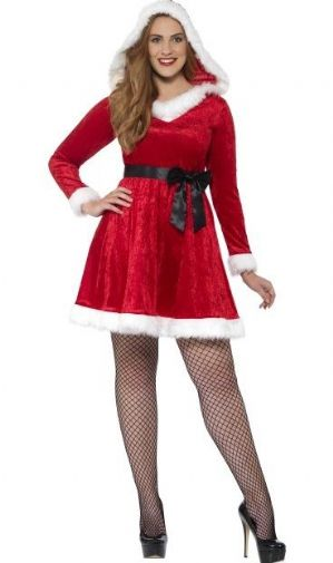 Miss Santa Plus Size Costume